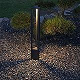 CLGarden Design LED Außenstandleuchte ASL2 Designer Außenleuchte Pollerleuchte Gartenbeleuchtung