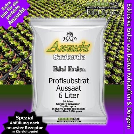 Anzuchterde Aussaaterde Saaterde groß - 6 Ltr. PROFI LINIE Substrate - Blumenerden