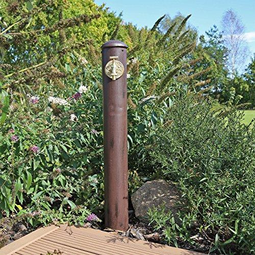 Wasserzapfstelle WZS1 Wasserzapfsäule für Garten Stand Wasser Zapfsäule Säule