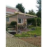 Sunfighters Sonnenschutz Garten Balkon und Terrasse Wavesail HDPE Atmungsaktiv Schattenspender 2,9x4 Schwarz