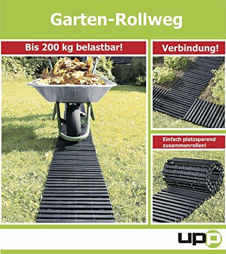 Gartenplatten/Rollweg