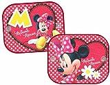Joy Toy 76010 - Disney Mickey und Minnie, Sonnenschutz für das Auto mit Saugnapf Paar im Säckchen, 36 x 45 cm