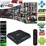 Android 8.1 TV Box X96 Max TV-Gerät Top-Box S905W Netzwerk-Player 4G RAM 64G ROM Android 8.1 HD 4k Player Für Heimkino Spiele Spielen (1000 Meter Netzwerk-Ethernet)