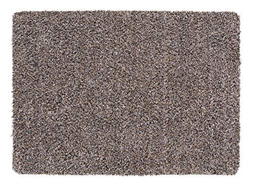 andiamo Schmutzfangmatte Sauberlaufmatte Fußmatte - Indoor/Outdoor Matte - waschbar, in 4 Farben erhältlich, Farbe:Beige, Größe:50 x 80 cm