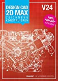 Franzis Verlag DesignCAD 2D MAX V24 Zeichnen/Konstruieren
