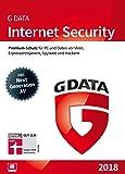 G DATA Internet Security 2018 für 3 Windows-PC (PC Download) [Download]