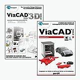 ViaCAD 2D/3D 10 inkl. ViaCAD PowerPack 10 - 3D Druck - Das innovative CAD-Werkzeug für präzises 3D Design! Windows 10|8|7|Vista (64-bit) [Download]