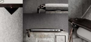 Eine 11 Zoll Laptop Schutzhülle in einem sehr schönen, grauen Design.